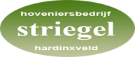 Striegel Hoveniers - Logo Header